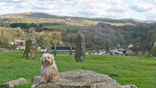 View from the Gorsedd stones, Fishguard, taken by Patricia Watkins