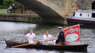 Annual swan upping