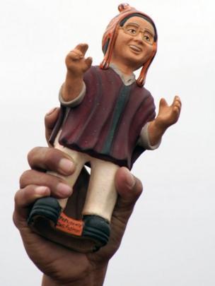 Muñeco de Fujimori