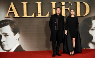 Brad Pitt and Marion Cottilard