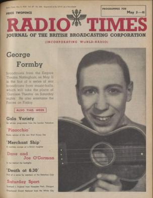 Front cover: George Formby