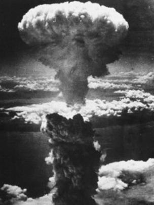 Explosão de bomba atômica