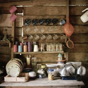 Kitchen area, Bessy's home, Bilwi, Nicaragua