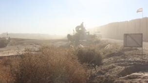 بالصور: الأوضاع على الحدود الغربية للعراق