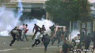 Berber protests, 2001