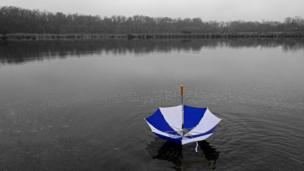 Floating umbrella