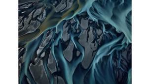 Река Тьоурсау, Южный Регион, Исландия, 2012