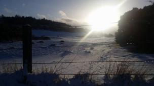 Snow in Selkirk