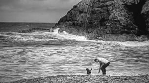 Cwmtydu Beach, Ceredigion