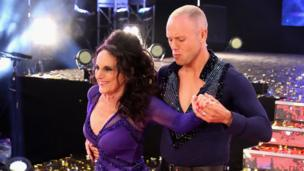 Lesley Joseph and Judge Rinder