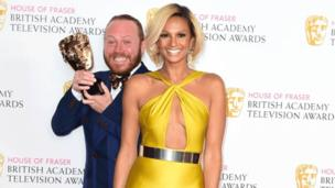 Leigh Francis and Alesha Dixon