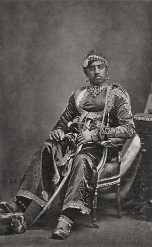 Udaipur, His Highness, Maharana Sajjan, Singh, 1877, Bourne & Shepherd Courtesy MAP / Tasveer