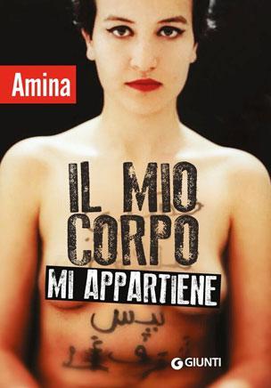 The cover of the Italian edition of Amina Sboui's book