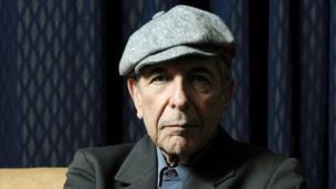 Leonard Cohen in 2006