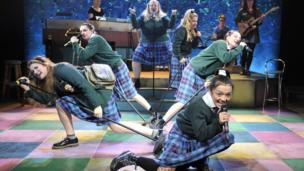 A scene from Our Ladies of Perpetual Succour