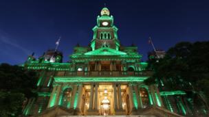 The Town Hall in Sydney Australia