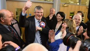 The seat of Fermanagh South Tyrone also saw a change of hands, as UUP candidate Tom Elliot defeated Sinn Féin's Michelle Gildernew.