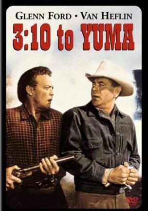 """Cartel de la película """"3:10 to Yuma"""", de 1957."""