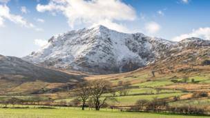 Cader Idris mountain, Snowdonia