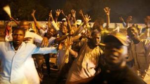 Wasu 'yan Najeriya masoya Buhari na murna