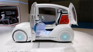 टोयोटोची कंसेप्ट कार वंडर-कॅप्सूल.