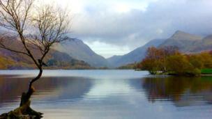 Llyn Padarn, Llanberis taken by Carole Lynes