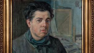 Exhibición conjunta de cuadros de Pablo Picasso y Diego Rivera