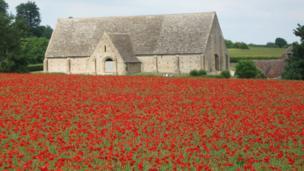 David Weston took this glorious shot of Great Coxwell Barn.
