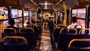 """Foto de un lector de BBC Mundo por el tema """"transporte público""""."""
