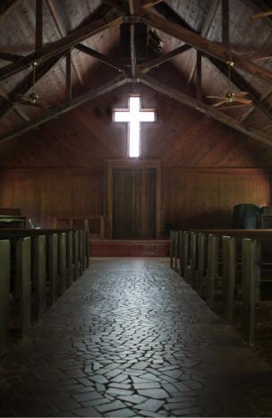 Small chapel in Georgia, USA