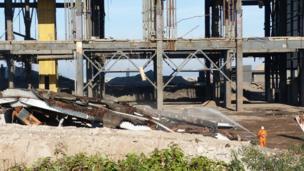 Demolished Cockenzie power station