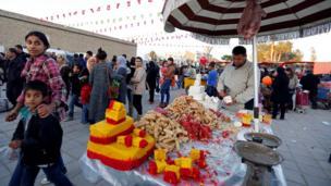 جشن میلاد پیامبر اسلام در قیروان تونس