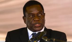 Emmerson Mnangagwa pictured in Zimbabwe on 7 January, 2017