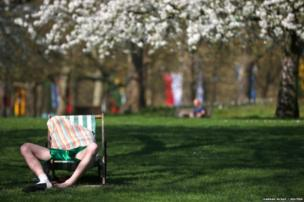 लंदन के सेंट जेम्स पार्क