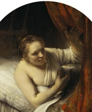 Rembrandt's A Woman in Bed