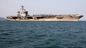 USS Carl Vinson, Vietnam