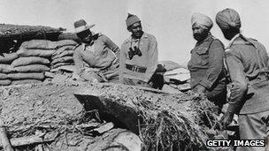 சீனாவோடு நடத்திய போரில் ஒரு கோட்டையை பிடித்த இந்திய ராணுவத்தினர்.