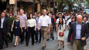 Hoàng tử Anh William (Công tước xứ Cambridge) lần đầu tiên thăm Việt Nam