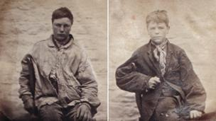 Oxford Castle mugshots of teenagers
