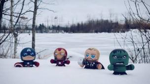 Muñecos en la nieve