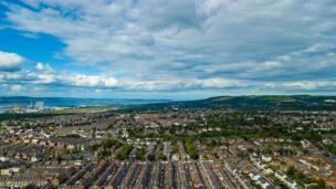 Belfast in the sunshine