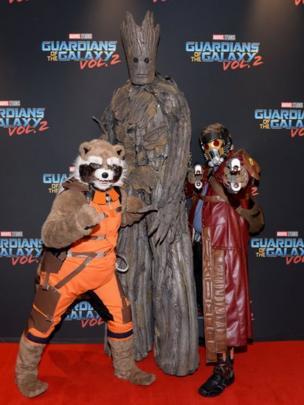 Personajes de Guardianes de la Galaxia.