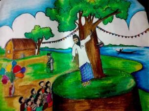 ঢাকার লুৎফুন নাহারের ছবি।