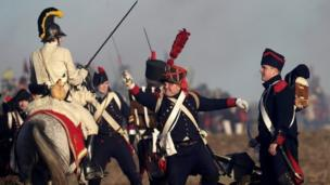 The re-enactment of Austerlitz