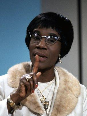 Shirley Chisholm on the BBC in 1970