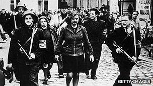 Danish resistance fighters