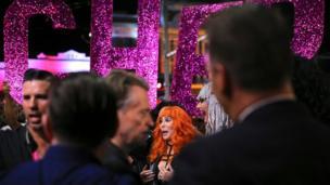 Cher at the Mardi Gras