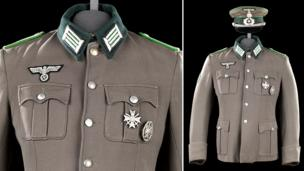 German WW2 uniform worn by Clint Eastwood in the film Where Eagles Dare, 1968