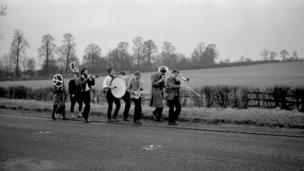 Country band by John 'Hoppy' Hopkins in 1960