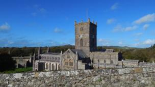 St Davids Cathedral in Pembrokeshire, taken by Matthew Page